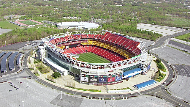 Vue aérienne du FedexField (Getty)