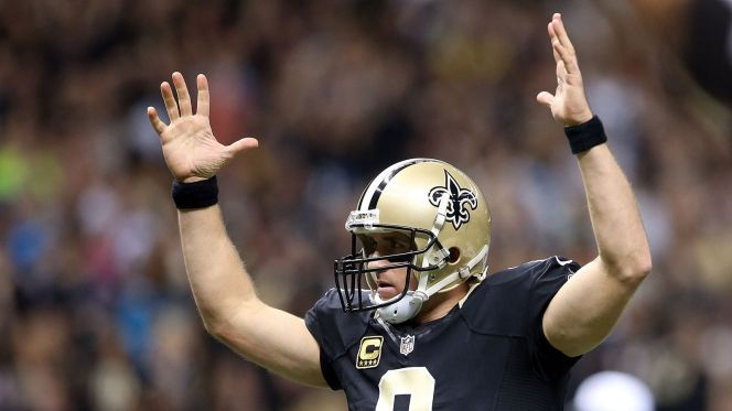 Drew Brees, le maître des Yards (Getty)