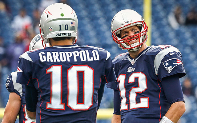 Tom Brady est suspendu 4 matchs, à Jimmy Garoppolo de jouer (Getty)