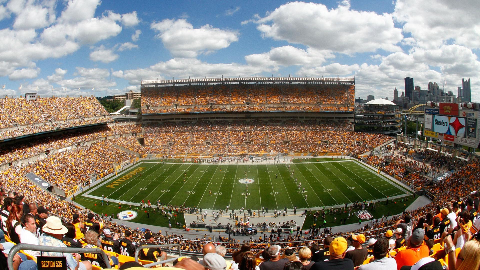 Le Heinz Field rempli de fans aux couleurs des Steelers (Getty)