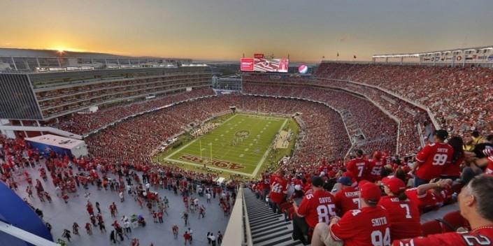Les fans des 49ers se donnent désormais rendez-vous à Santa Clara (Sigmalive)