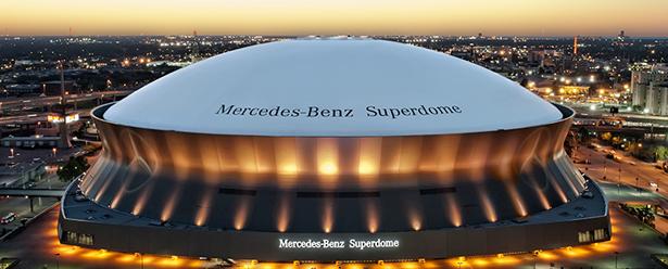 Le Superdome, une enceinte remplie d'histoire(s) (Saints.com)