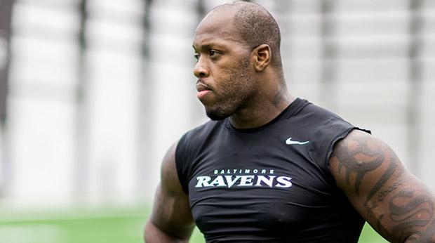 Terrell Suggs, un des nombreux joueurs de retour de blessure (BaltimoreRavens.com)