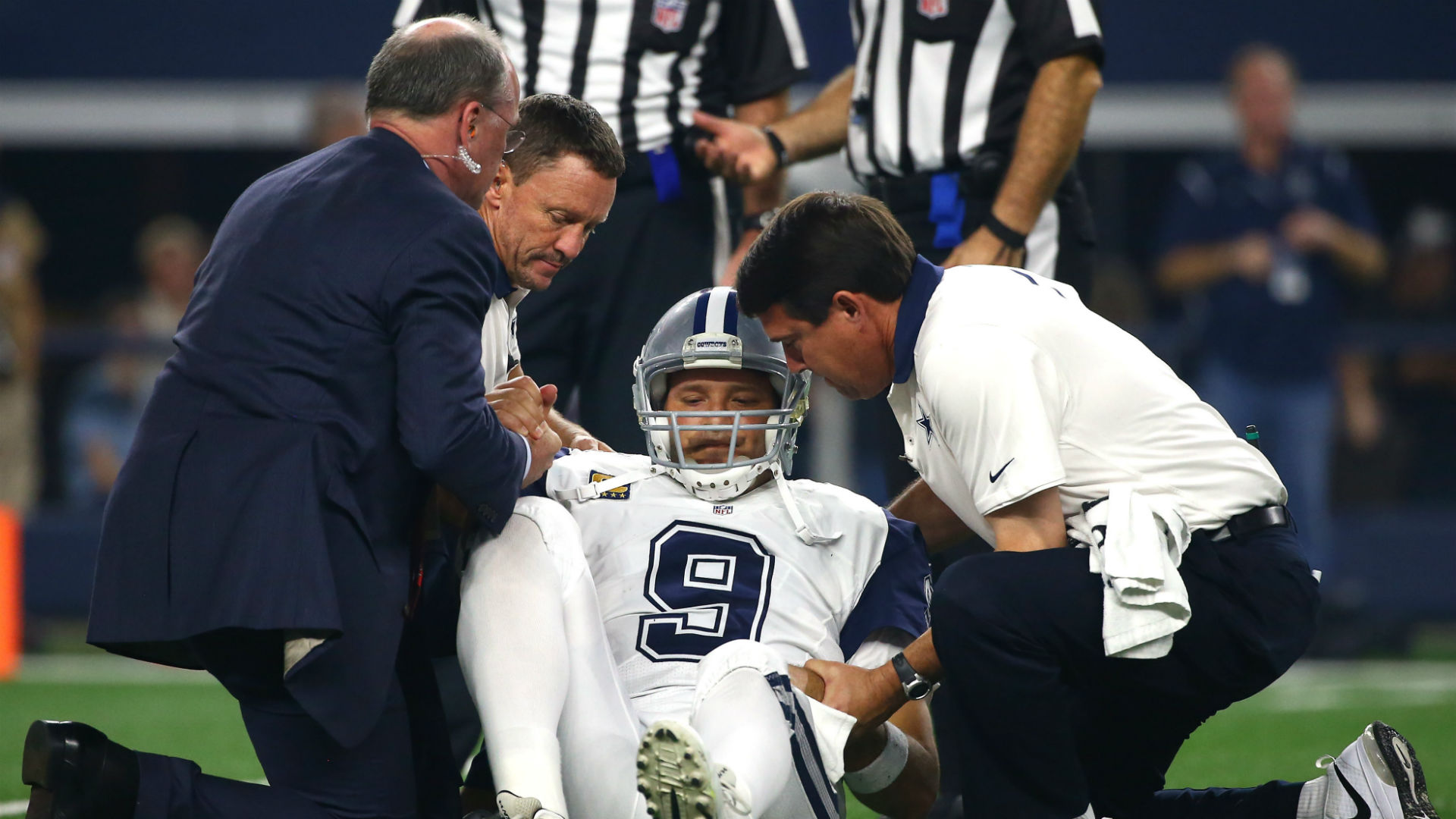 Attention aux blessures pour Tony Romo (Inside the Star)