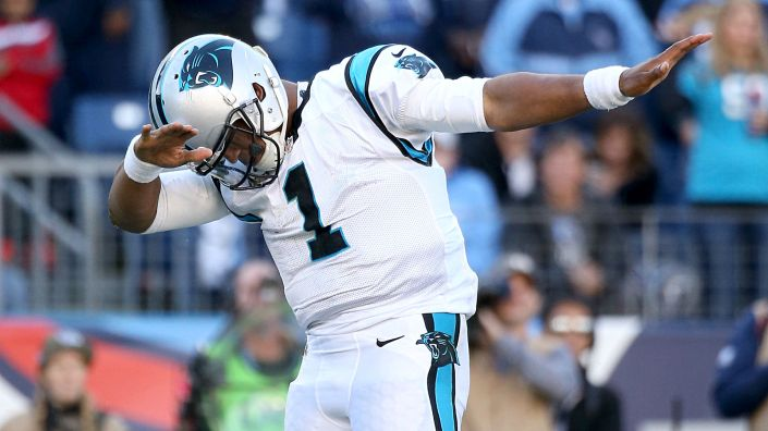 Cam Newton, MVP en titre, veut maintenant une bague de champion (Getty)