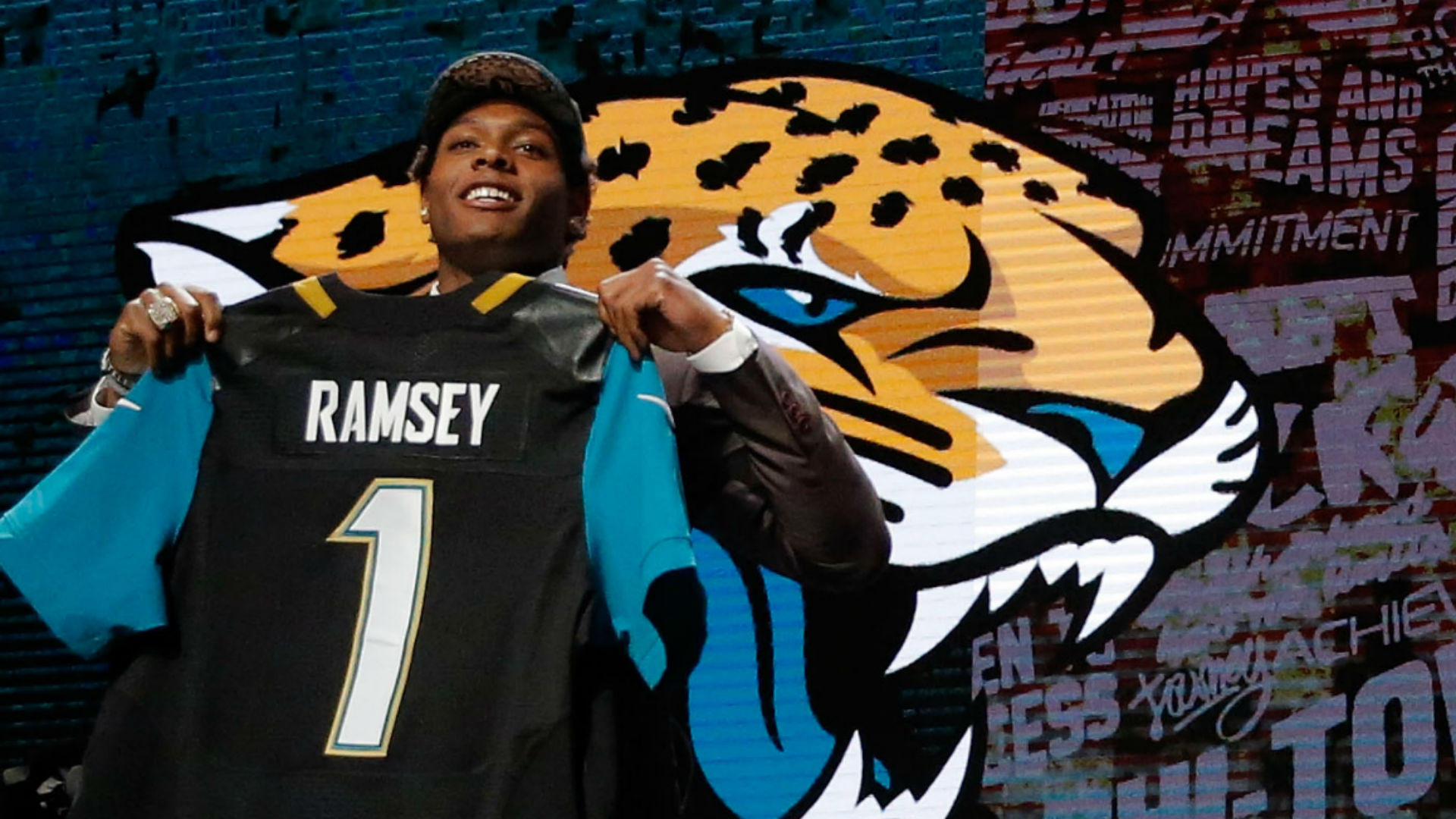Jalen Ramsey lors de la Draft 2016 (Getty)