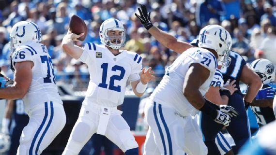 Andrew Luck poursuit son bon début de saison (Getty)