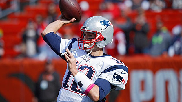 Tom Brady a sorti sa frustration et les Browns ont pris cher (Getty)