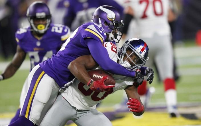 La défense des Vikings est impressionnante depuis le début de la saison (AP)