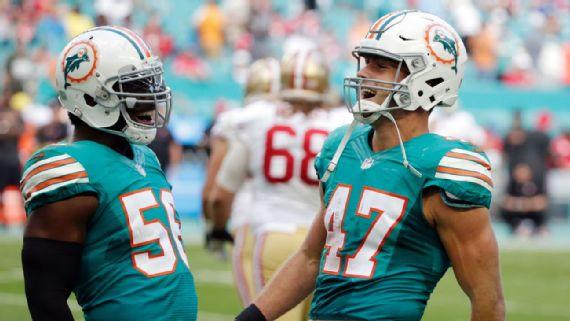 6ème victoire de rang pour des Dolphins qui visent clairement les playoffs (AP)