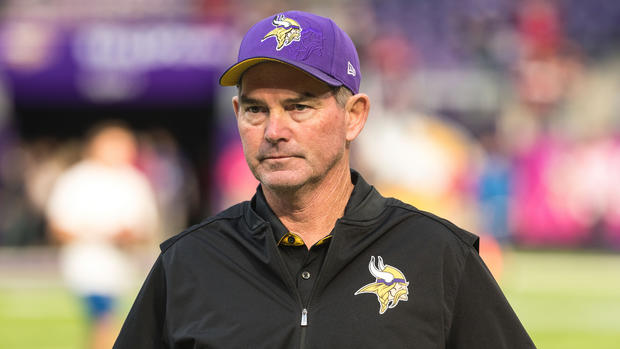 Mike Zimmer, favori pour le moment... (USA Today)