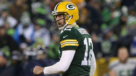 Aaron Rodgers est de retour au top, et il porte les espoirs de playoffs des Packers (Getty)