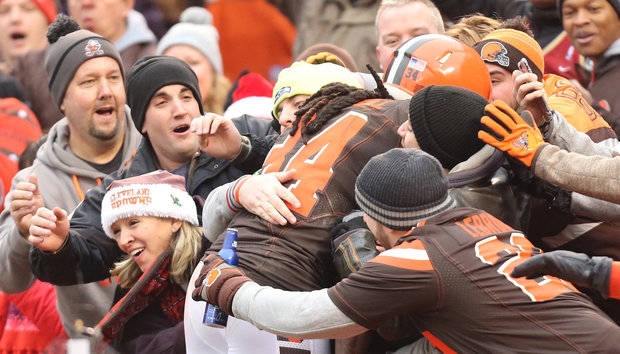 Pour noël, les Brown offrent enfin une victoire à leurs fans (Cleveland.com)