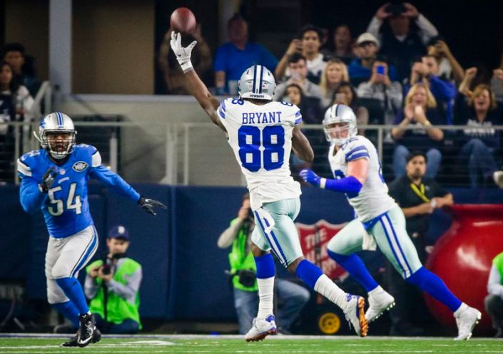 Dez Bryant s'improvise QB... (The Dallas Morning News)