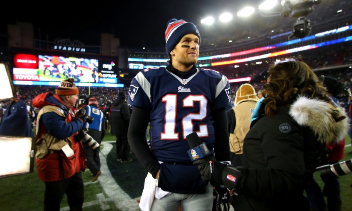 Tom Brady n'a pas vraiment été inquiété par la meilleur défense de NFL (Getty)