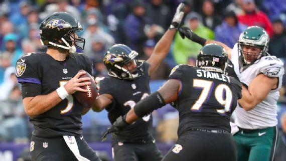 Les Ravens joueront un match décisif face aux Steelers la semaine prochaine (Getty)