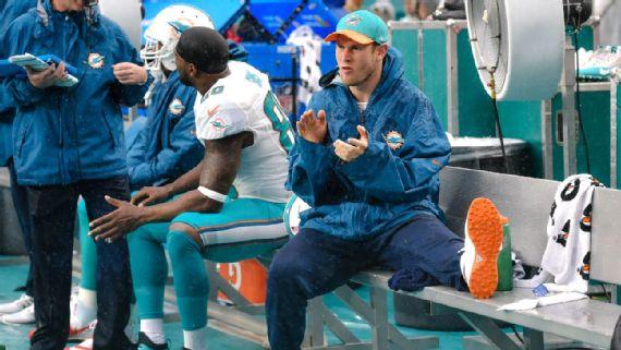 Les Dolphins visent les playoffs, mais ce sera sans Ryan Tannehill (USA Today)