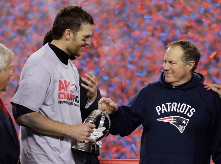 Tom Brady et Bill Belichick continuent de battre des records (AP)