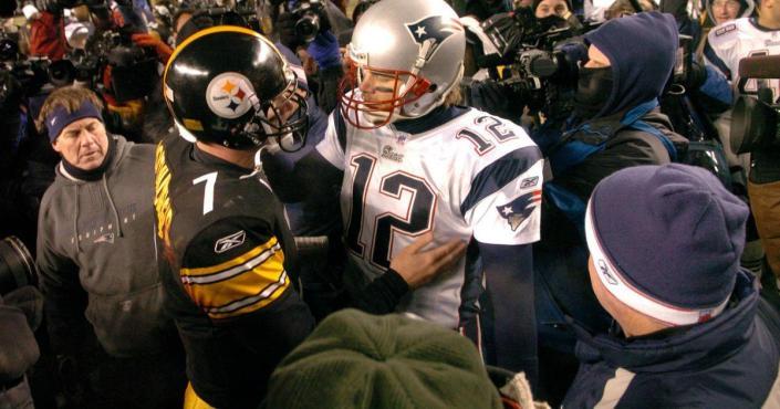 Tom Brady et Ben Roethlisberger ne se sont pas affrontés en playoffs depuis 12 ans ...