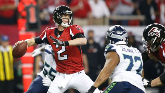 Matt Ryan en mode MVP face aux Seahawks (USA Today)