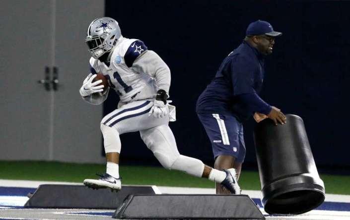 Ezekiel Elliott, rookie et déjà leader de la NFL à son poste (AP)