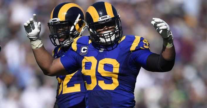 Heureusement que les Rams ont Aaron Donald... (AP)