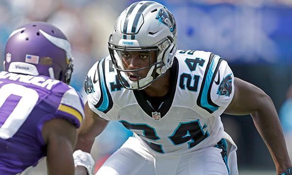 Bradberry a su rebondir après un départ compliqué (Panthers.com)