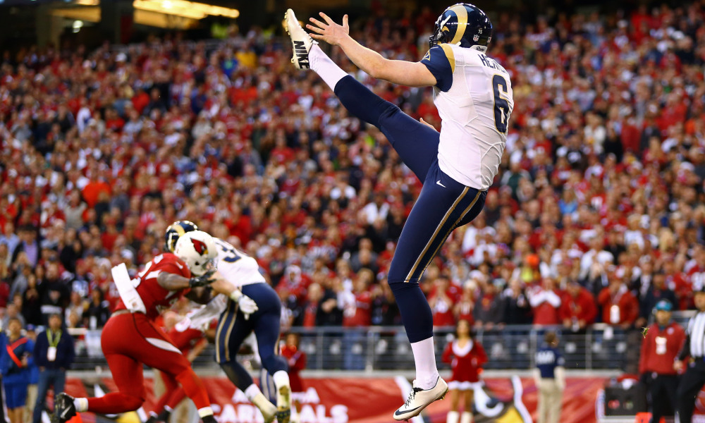 Les jambes de Johnny Hekker sont magiques (USA Today)
