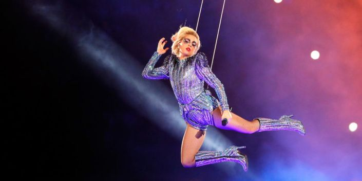 Lady Gaga était au niveau de ce Super Bowl LI (Getty)