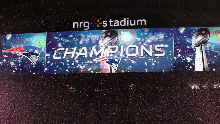 Les Patriots sont de nouveau champions ! (Getty)